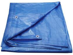 Plachta 5x6m zakrývací modrá 70g/m2