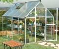 HYBRID 6x8 250x185cm skleník 4,6m2 + HNOJIVO, PLACHTA