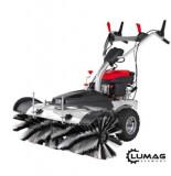 LUMAG KM 1000 motorový kartáè - ZDARMA radlice a box