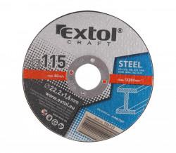 Øezný kotouè 115x1,6, 5ks EXTOL CRAFT ocel
