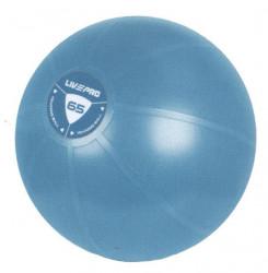Míč gymball LivePro STUDIO FIT EXERCISE 65cm modrý