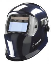 OPTREL e684 tmavě modrá samostmívací svářecí kukla