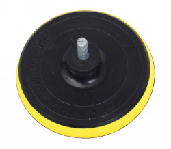 125mm Unašeè / nosiè brusiva na suchý zip do vrtaèky mìkký 108425