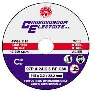 Řezný kotouč 150x2mm Carborundum ocel