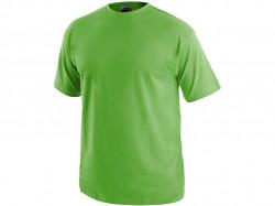 Tričko DANIEL krátký rukáv, bavlna, zelené jablko