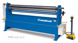 METALLKRAFT RBM 2050-15 E Elektr. zakružovačka plechu 205cm