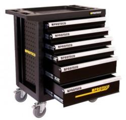 PROTECO skříň na nářadí se 6 zásuvkami 43.SNP-6