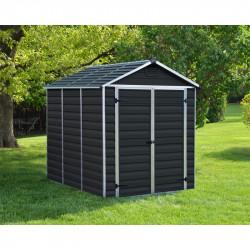 Skylight 6x8 antracit zahradní domek 230x185cm
