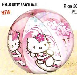 Míč plážový HELLO KITTY, prům. 50cm