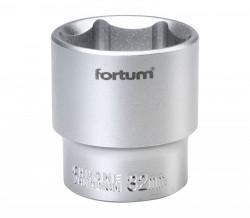 "32mm hlavice 1/2"" 6hran FORTUM"