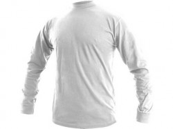 Tričko PETR dlouhý rukáv bílé